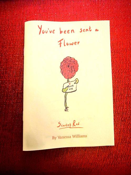 You've been sent a flower Zine