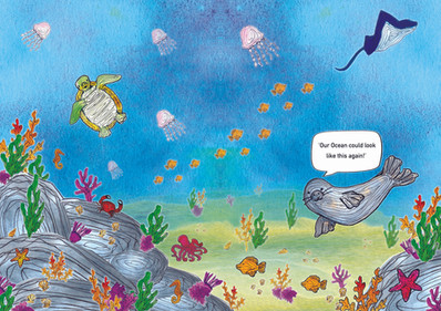 Children's infromation book on Plastic Pollution