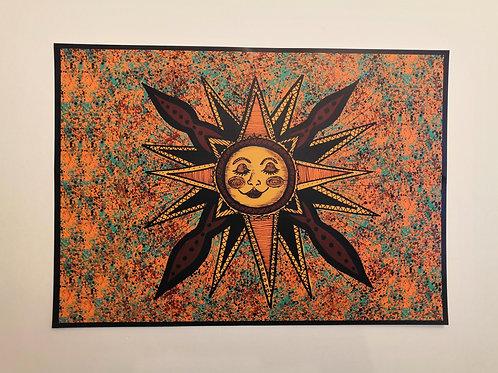 Bohemian Sun Poster