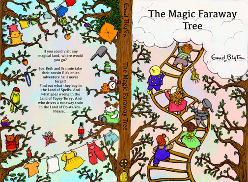 Book Cover for the Faraway Tree
