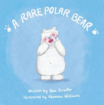 A rare polar bear