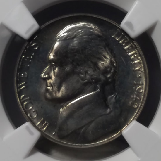 1942 5¢ Jefferson Proof Nickel Type I NGC Proof 64 CAC Eric P Newman
