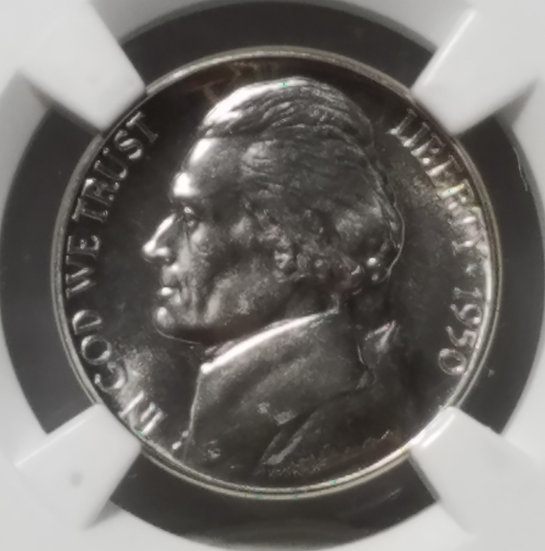 1950 5¢ Jefferson Proof Nickel NGC PF66 Ex Eric P Newman