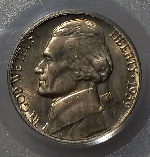 1939-S Rev of 1940 5¢ Jefferson Nickel PCGS MS65FS