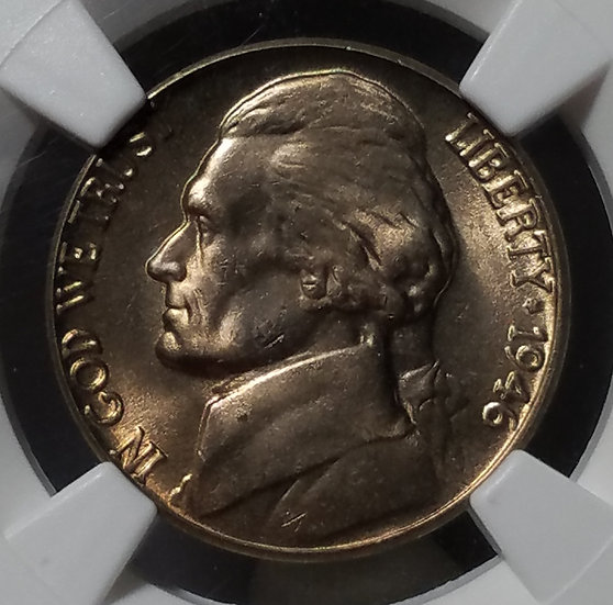 1946-D 5¢ Jefferson Nickel NGC MS66FS