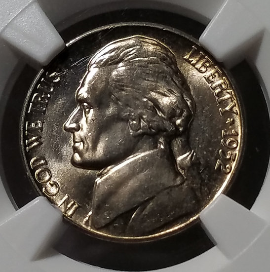 1952-D 5¢ Jefferson Nickel NGC MS65FS