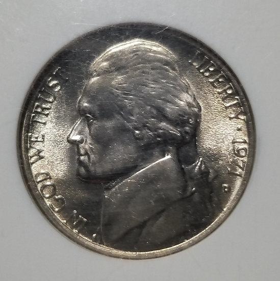 1971-D 5¢ Jefferson Nickel NGC MS67FS