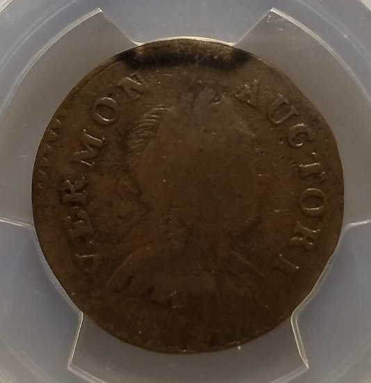 1788 Vermont Copper Bust Right PCGS VG08