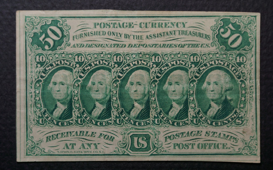 Fr 1312 50¢ First Issue Fractional  - VF