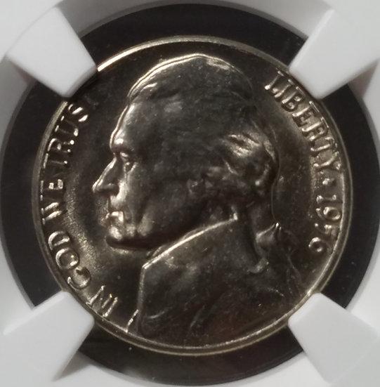 1956-D 5¢ Jefferson Nickel NGC MS67