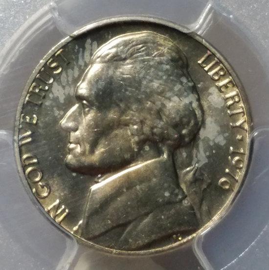 1976 5¢ Jefferson Nickel PCGS MS65FS