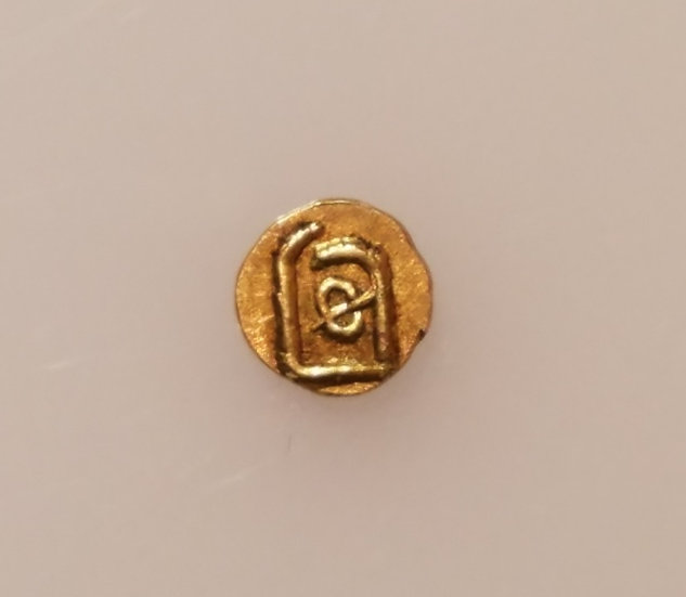 Gold Indian Fanam 1700-1830