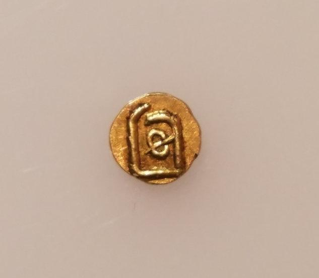Gold Indian Fanam 1700-1830
