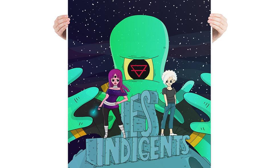 Póster Después de todo - Les Indigents