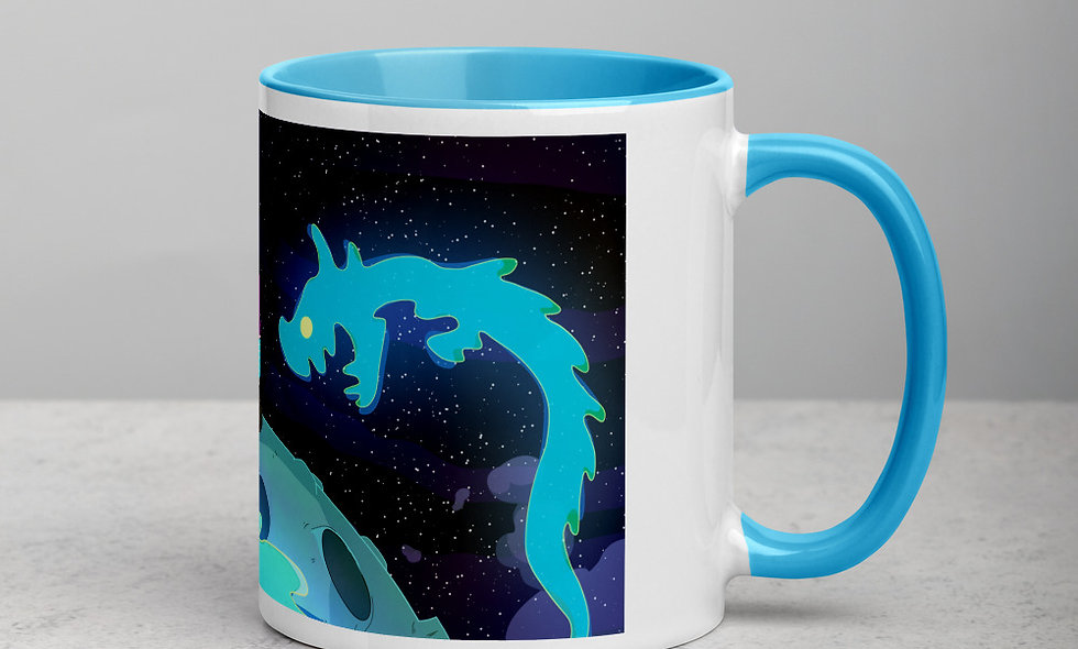 Taza color Space - Les Indigents
