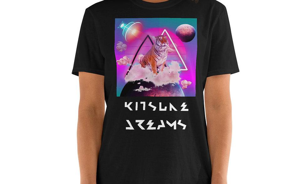 Camiseta manga corta unisex Kitsune Tiger