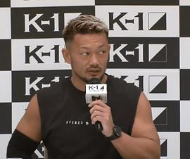 K-1 WGP 2019一夜明け会見   愛鷹亮   プロキックボクサー   日本