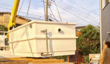 FRP製 タタキ池 | ノーザンみしま | アロワナからカワウソまで | 静岡発全国展開