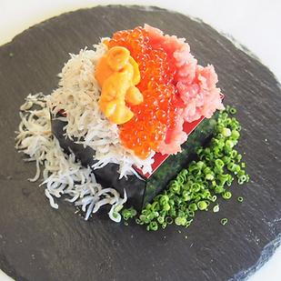 こぼれ寿司シングル | まぐろ一筋みやもと