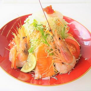 海鮮サラダ | まぐろ一筋みやもと