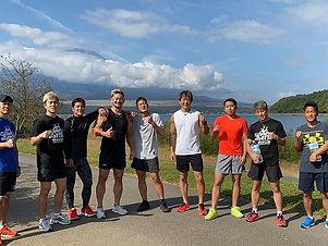 練習中の一コマ | 愛鷹亮 | プロキックボクサー | 日本