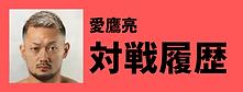 愛鷹亮対戦履歴 | 愛鷹亮 | プロキックボクサー | 日本