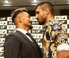 K-1 WGP 2019前日会見・前編   愛鷹亮   プロキックボクサー   日本