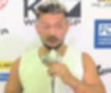 8.24 K-1大阪大会試合後インタビュー | 愛鷹亮 | プロキックボクサー | 日本