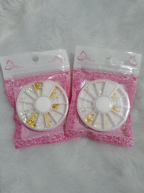 2 Decorativos para Unhas Miss Frandy
