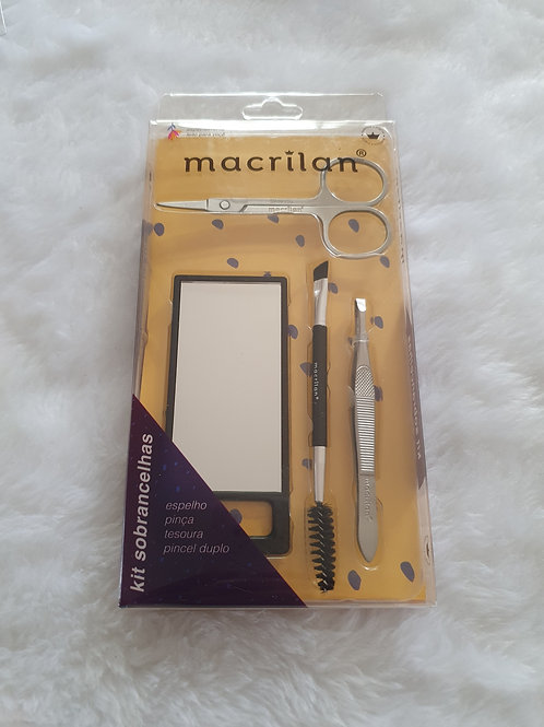Kit de Sobrancelhas Macrilan