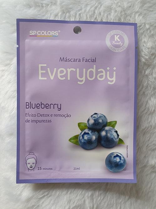 Máscara Facial Everyday Blueberry SP Colors
