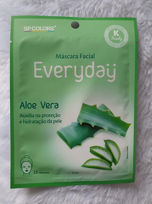 Máscara Facial Everyday Aloe Vera SP Colors