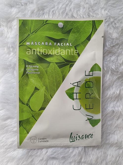 Máscara Facial Antioxidante Chá Verde Luisance