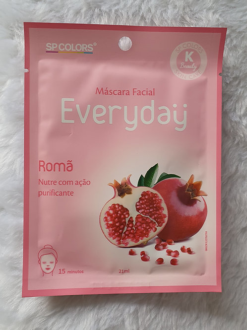 Máscara Facial Everyday Romã SP Colors