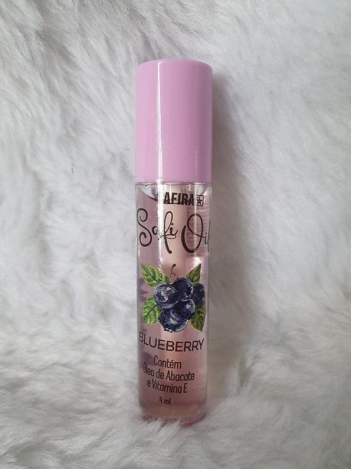 Lip Oil Gloss Labial Hidratante Safi Oil Safira Blueberry