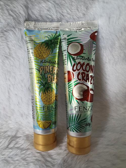 1 Creme Hidratante Facial Pineapple + 1 Coconut Fenzza