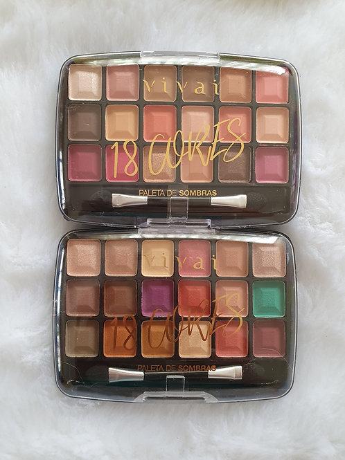 2 Paletas Vivai 18 cores