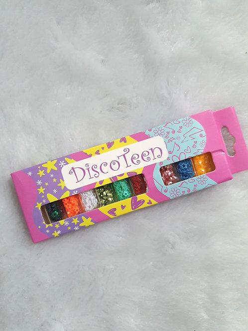 Kit Acessórios para Unhas Disco Teen