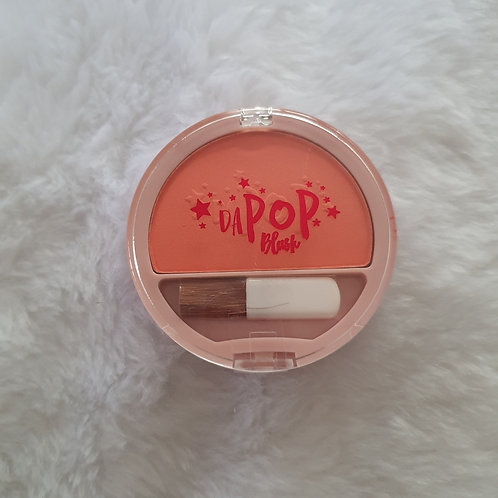 Blush Compacto DaPop Pêssego