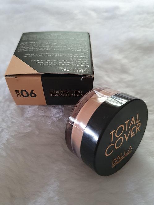 Corretivo Vegano Total Cover Dalla Makeup Cor 06