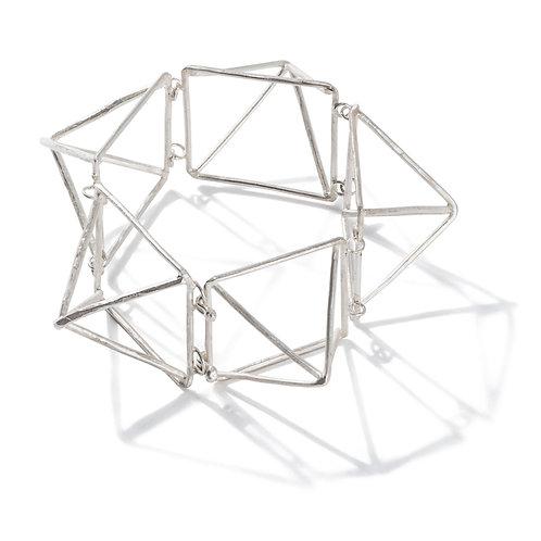 Artchitectural Silver Bracelet