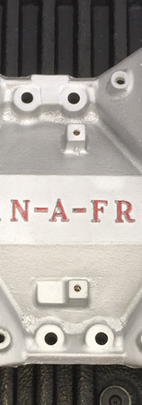 Man-A-Fre Small Block Ford Plate