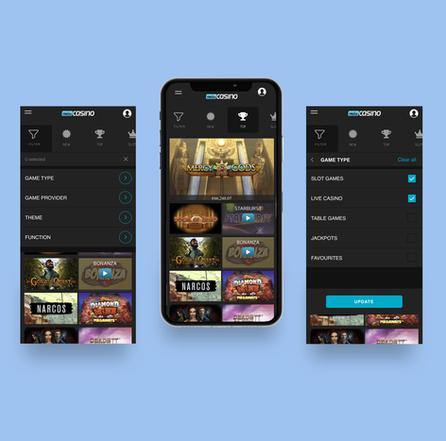 Hello Casino UX/UI