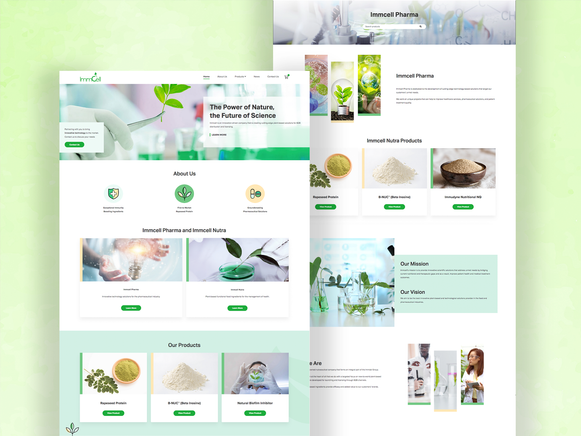ImmCell pharma tech website