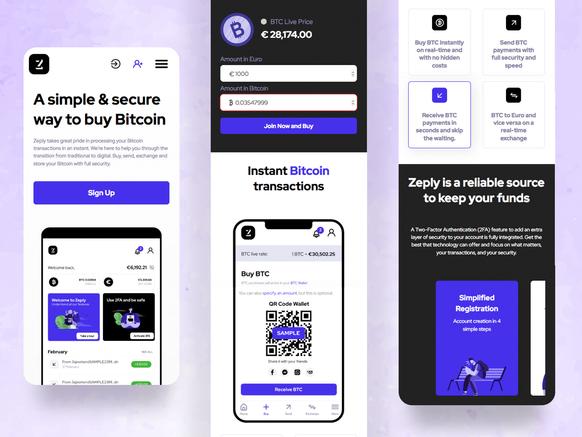 Zeply bitcoin website
