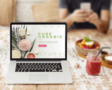 Ecommerce landing page designs