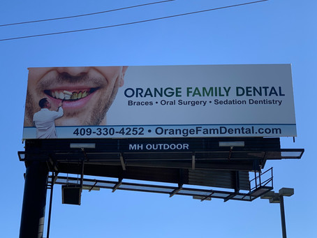 Keeping it clean with Orange Family Dental