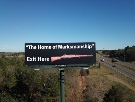 Darn tootin' that's some fine creative. Thank you Civilian Marksmanship Program.