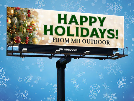 Happy Holidays and Cheers to a Merry New Year from MH Outdoor.