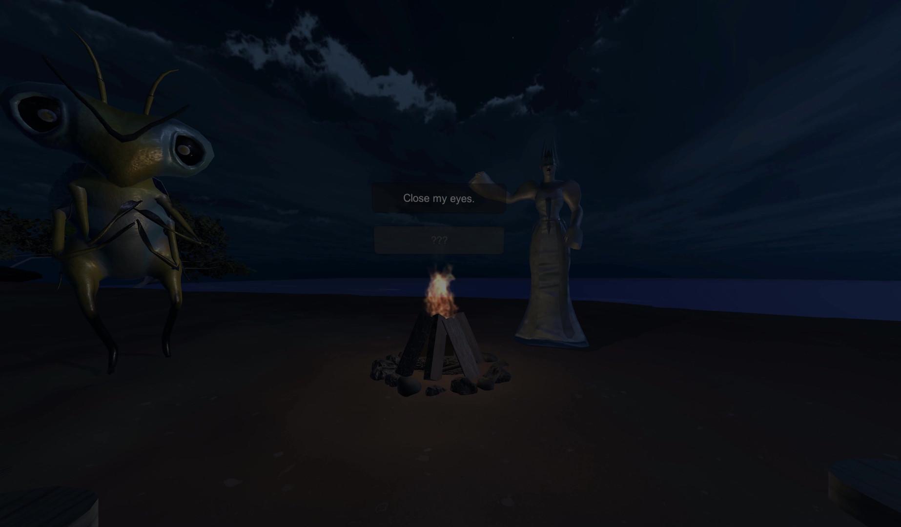 """Dark Shapes"" VR Experience"